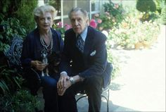 Coral Browne and Vincent Price. Such a lovely couple.