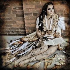 La Muse - Parchment Dress - Arbre Mécanique