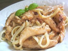 Creamy Cajun Chicken Pasta ~ N'awlin's style of chicken with an updated Alfredo sauce