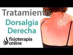 Tratamiento de la dorsalgia derecha - YouTube