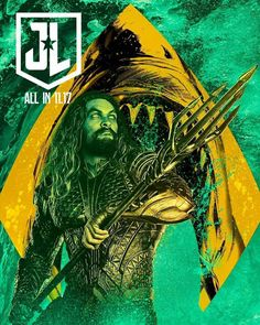 All In : Aqua-Man - Visit to grab an amazing super hero shirt now on sale! Comics Universe, Superhero Poster, Superhero Movies, Dc Movies, Comic Movies, Marvel Movies, Dc Comics Art, Fun Comics, Dc Comics