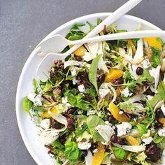 Fennel Salat via Allerhande Healthy Salads, Healthy Eating, Healthy Recipes, Healthy Food, Wine Recipes, Salad Recipes, Salad Bowls, Viera, Fennel