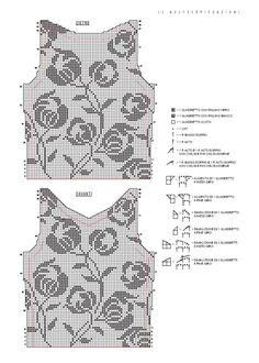 Одноклассники Filet Crochet Charts, Crochet Diagram, Crochet Square Patterns, Knitting Patterns Free, Cute Crochet, Crochet Lace, Fillet Crochet, Crochet Decoration, Crochet Clothes
