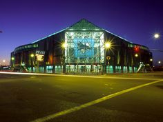 HP Pavillion.  Home of the San Jose Sharks