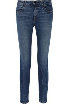 Alexander Wang | Wang 002 mid-rise straight-leg jeans | NET-A-PORTER.COM