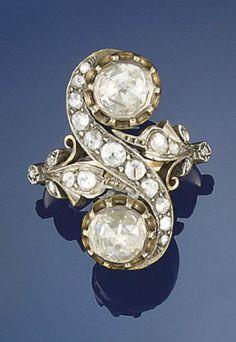 An antique diamond ring, Christie's.