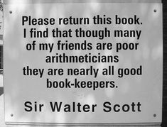 Charlotte Library Quotes _ Sir Walter Scott by trythesky, via Flickr