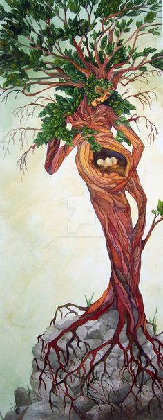 Green Man as feminine Mother Nature - what an amazing piece of work! Fantasy Kunst, Fantasy Art, Pregnancy Art, Pregnancy Belly, Pregnancy Pillow, Pregnancy Signs, Early Pregnancy, Pregnancy Workout, Tree Art