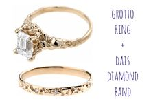 Hand-cast #emeraldcut ring from #BarioNeal