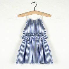Dancing In The Street Dress (Nautical Blue)