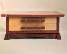 Purple-heart & Beech Jewelry Box - by JayCee123 @ LumberJocks.com ~ woodworking community