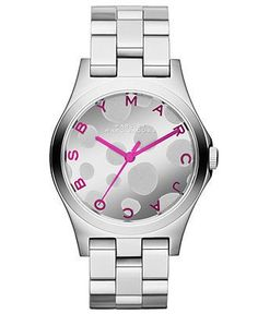 Montre pour femme : Marc by Marc Jacobs Watch Women's Henry Stainless Steel Bracelet 37mm MBM32