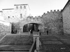 Arco de la Estrella, Cáceres.