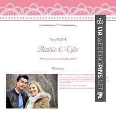 Love This Laura And Brian Wedding Website Check Out More Great Pics