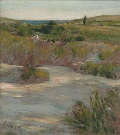 Sunset Glow, William Merrit Chase,  1890–1895