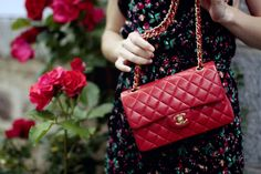 CHANEL 2.55 FLAP BAG, RED. YES!!!