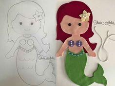Sereia feltro I mermaid