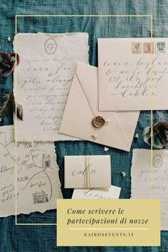 Le partecipazioni sono il biglietto da visita del vostro matrimonio: dal nostro team di design, 4 infallibili consigli per prepararle al meglio.