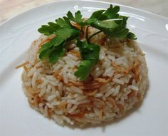 Cooking rice is one of the easiest and most difficult dishes to prepare; it's a tricky dish, you might get it perfect or you might get it lumpy!I found out that this way gives you the best perfect rice every time. Cooking Rice, How To Cook Rice, Vegan Vegetarian, Pasta, Dishes, Recipes, Food, Plate, Meal