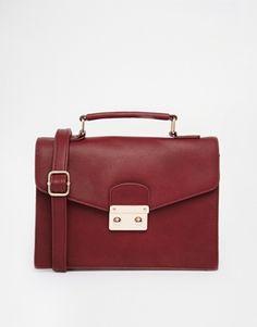 ASOS Color Block Clean Satchel Bag