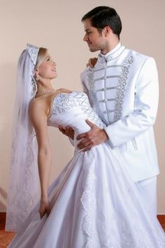 now wouldn't that be fun! Wedding Groom, Wedding Wear, Dream Wedding Dresses, Wedding Gowns, American Dress, Dress Cake, Beautiful Costumes, Folk Fashion, Groom Style