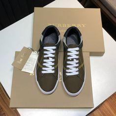 -Green Sneakers. -Upper: 100% cotton. -Lining: 100% leather. -Sole: 100% rubber. -Lace-up closure. -Size: EU 38, EU 39, EU 40, EU 41, EU 42, EU 43, EU 44. Burberry Outlet Online, Cheap Burberry, Green Sneakers, Sale Store, Check Dress, Canvas Sneakers, Buy Cheap, Lace Up, Louis Vuitton