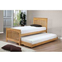 Toronto Single Wooden Spare Under Guest Bed Frame