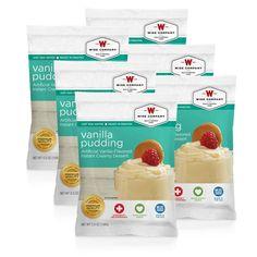 6 Pack – Vanilla Pudding