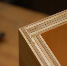 rabbet joint to make a simple plywood box