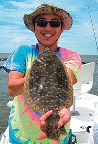 An article that examines how rising inshore water temperatures draw flounder out of the deep water in spring, making it easier for light-tackle anglers to catch them