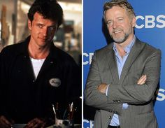 Aidan Quinn - then and now.Still love 'em as much as back then! Aidan Quinn, Desperately Seeking Susan, Beard Suit, Stars Then And Now, Irish Men, Love S, Suits You, Sexy Men, Pop Culture