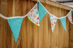 How to Make Bunting #Sewing #Bunting