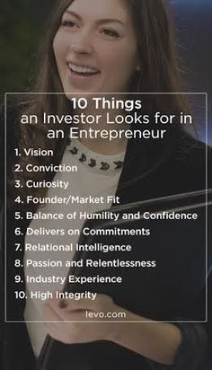 And while every investor is different, this list of qualities should provide valuable insight as you prepare your pitch. A female investor shares her investor secrets for entrepreneurial women.