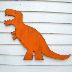 T Rex Wall Art Dinosaur Medium Baby Nursery by SlippinSouthern, $67.00