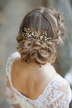 Bridal hair pins Wedding hair pins Pearl by AnnAccessoriesStudio