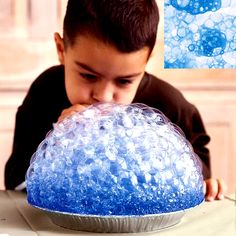 1 c. bubble soap 1/2c. tempera paint  blow bubbles w/ a straw and touch paper over it to make bubble prints