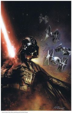Darth Vader by Nick Runge
