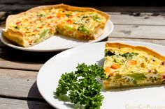 Quiche de verduras – Sin gluten – Paso a paso