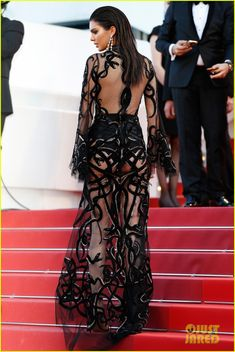 Kendall Jenner Wows In Sheer Dress After Jet-Skiing In Cannes: Photo #3656788. Kendall Jenner is turning everyone's head in an ultra sheer gown at the premiere of From The Land Of The Moon premiere during the 2016 Cannes Film Festival held…