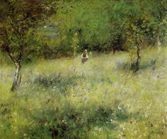 Spring at Catou 1872-1873 | Pierre Auguste Renoir | Oil Painting