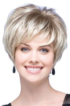 #Silvery Pretty #Fashion #Cosplay Ladies Short Hair #Wig