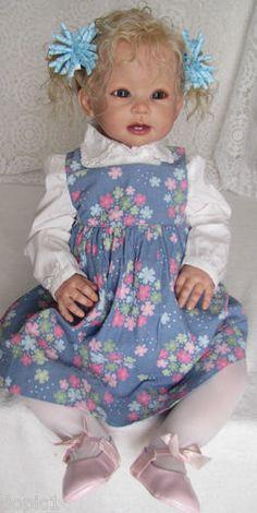 "Nancy's Lil Darlings Bonnie by Linda Murray 30"" Toddler Reva Schick sitng Limbs | eBay"
