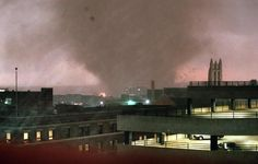 March 28, 2000 - 6:18 p.m. - Tornado in Fort Worth, TX.  This was an unforgettable night!