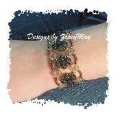 Ice Crystal Bracelet - via @Craftsy