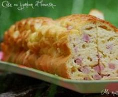 Cake au jambon et au boursin