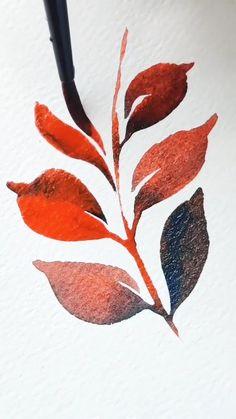 Watercolor Art Lessons, Watercolor Techniques, Painting Techniques, Watercolor Paintings, Easy Watercolor, Watercolor Flowers, Watercolors, Diy Canvas Art, Art Tutorials