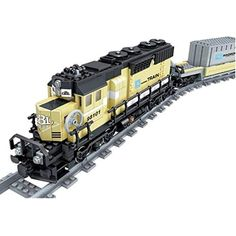 KAZI Battery Powered Maersk Train Container Train diesel-electric freight train Building Blocks educational toys for children Model Building Kits, Building Blocks Toys, Lego City Train, Lego Trains, Diesel, Playmobil Toys, Container Buildings, Birthday Gifts For Girls, Train