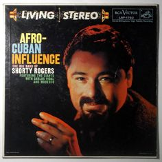Shory Rogers AFRO-CUBAN INFLUENCE / RCA LIVING STEREO LSP-1763 #JazzInstrument