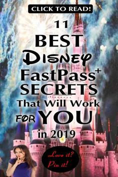 Disney Fastpass+ Secrets. Everything you need to know about the FastPass+ system: the tips, tricks & secrets you must know to make the most out of your visit to Walt Disney World. We also look at the differences between Disneyland & WDW. Lastly, we'll explore what will work great in 2019 to make the most of your next visit. Avoid long lines, ride the best rides & become a Disney expert in no time! #mcd #WaltDisneyWorld #FastPass+ #FastPass #DisneyFastPass #WDW #DisneyVacation…