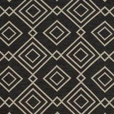 Gatsby 92 Slate by Covington - Love this black contemporary fabric!